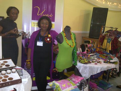 Uyai By Peniel Stall at the Port Harcourt L'avent  Marche, December 2012